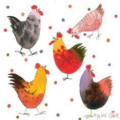 Dotty Chickens   Alex Clark