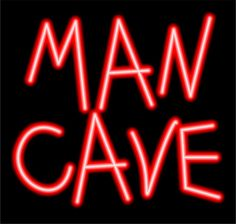 Man Cave Red Neon Sign by PinkNeonLaura on Etsy