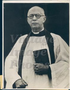 1933 Dr Olas Hanson Seattle Gospel Missionary Deaf Mutes Minister Press Photo