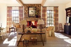Suzanne Kasler Designs a Home at Tennessee's Blackberry Farm Photos | Architectural Digest