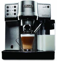 Best Delonghi Espresso Maker for 2018 You are looking for the best Delonghi Espresso Makers. Here's our short-list of recommended Delonghi Espresso Maker options. Cappuccino Torte, Cappuccino Pulver, Cappuccino Maker, Espresso Maker, Cappuccino Coffee, Latte Maker, Coffee Coffee, Coffee Maker Machine, Best Coffee Maker