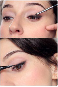 Makeup Eye Looks, Eye Make Up, Smokey Eye, Natural Beauty, Eyeliner, Hair Beauty, How To Make, Brown Eyes, Chili