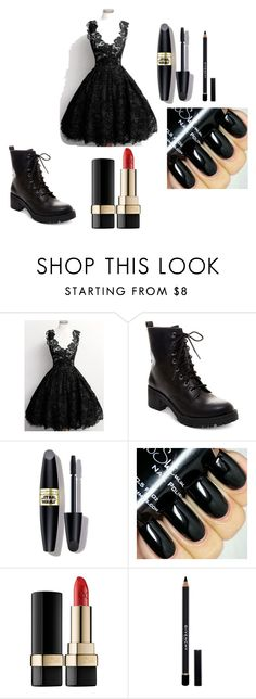 """""""January 24, 2016 #OOTD"""" by chooseyourstyle321 on Polyvore featuring Madden Girl, Max Factor, Dolce&Gabbana, Givenchy, women's clothing, women's fashion, women, female, woman and misses"""