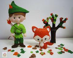 Felt  ♥♥♥ Robin dos Bosques...
