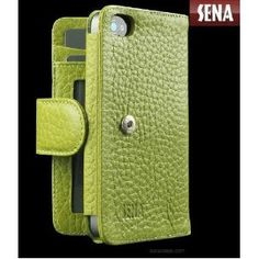 For the Iphone 4 - Sena cases - wallet style     Very cool!!!