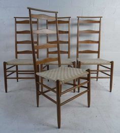 Ladderback Chairs By Nichols U0026 Stone Furniture, Wood, Traditional, Dining  Chair, Side Chair