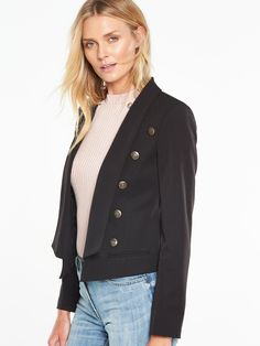 V by Very Military Trophy Jacket  | very.co.uk