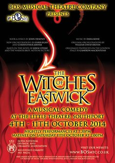 The Witches of Eastwick - www.bosmtc.co.uk