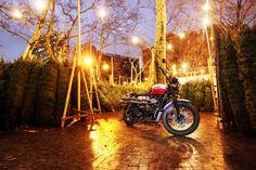Whether you've been naughty or nice, we wish you only the best of cheer this Holiday season. #Bonneville #Scrambler #ForTheRide #TriumphNYC