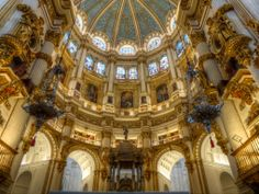 Grandada spain | The Dome Of The Granada Cathedral In Spain