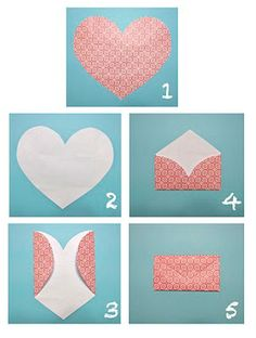 Right, just a few days to go till the big day so lets make some cute heart envelopes for those friends who pop around rather unexpectedly! Description…