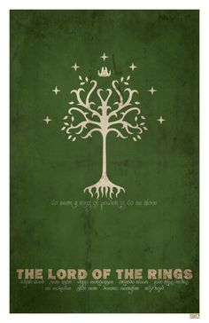 Lord Of The Rings - this would be a cool banner to hang in a garden area at a LOTR wedding.