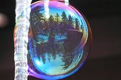 Reflections in a Bubble by Tom Falconer