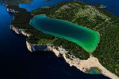 Salt lake Mir (Peace), Nature park Telascica, Dugi Otok (Long Island)