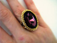 Items similar to Glimmerin' finger - ring,. on Etsy Handmade Jewelry, Unique Jewelry, Handmade Gifts, Ring Finger, Cool Patterns, Gemstone Rings, Dreams, Gemstones, Cool Stuff