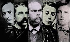 ►Los poetas malditos (para mim benditos): Tristan Corbière, Arthur Rimbaud, Paul Verlaine, Charles Baudelaire, Stéphane Mallarmé