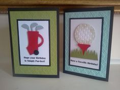 Anyone for Golf? by Sarah B - Cards and Paper Crafts at Splitcoaststampers