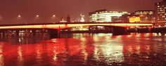 London Bridge  What a lovely view across the Thames River