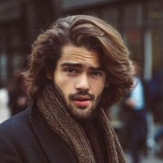 Long Wavy Hair Men - 40 Hot Guys with Long Hair: Sexy Long Hairstyles For Men #longhairmen #menshairstyles #menshair #menshaircuts #menshaircutideas #menshairstyletrends #mensfashion #mensstyle #fade #undercut #barbershop #barber