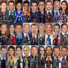My favorites are quicksilver, young Charles, young magneto, and mystic