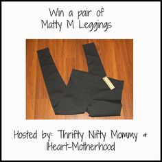 Matty M Leggins - Thrifty Nifty Mommy
