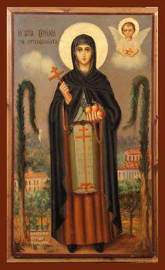 Catherine Of Alexandria, Greek Icons, Archangel Raphael, Raphael Angel, Sign Of The Cross, Russian Orthodox, Byzantine Icons, Orthodox Christianity, Albrecht Durer