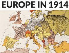 europe-in-1914-cartoon-german