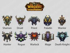 Wow New Class icon by ChippGenome
