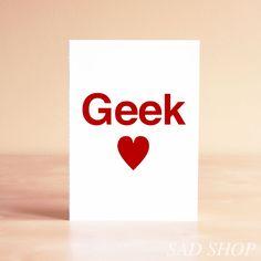 Funny Greeting Card - Wedding Card - Valentine Card - Teacher Gift - Techie Gift - Gift for Him - Boyfriend Gift - Geek. $5.00, via Etsy.