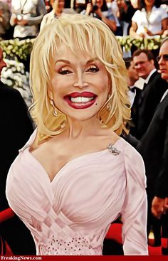 Dolly Parton caricature