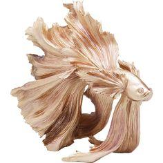 Dekorácia FISH GOLD II. Nabytok a doplnky. Kare Design, Figurine Naruto, Image Deco, Betta Fish, Best Interior, Decorative Objects, Sideboard, Fisher, Buffet
