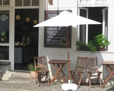 Little coffeshop in Köpenick, Berlin
