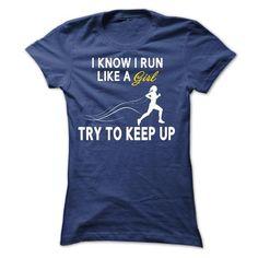 Run like a GIRL T Shirts, Hoodies, Sweatshirts. CHECK PRICE ==►…