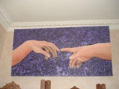Les mains...