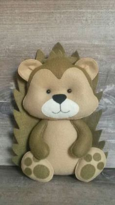♡ Handmade Felt Hedgehog ♡