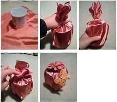 Korean Dol Birthday // DIY traditional decoration item ♦๏~✿✿✿~☼๏♥๏花✨✿写☆☀🌸🌿🎄🎄🎄❁~⊱✿ღ~❥༺♡༻🌺SU Dec ♥⛩⚘☮️ ❋ Creative Gift Wrapping, Creative Gifts, Origami Christmas Ornament, First Birthday Decorations, Fabric Gifts, Birthday Diy, Xmas Gifts, First Birthdays, Diy And Crafts