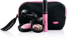 NEW Laura Geller It's a Pink Thing Collection Set Blush Velvet Shadow Gloss Bag     eBay
