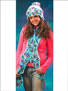 celtic-way-crochet-scarf-hat-pattern