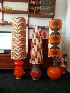 Les lampadaires de 1970 !
