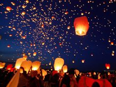 I want to have floating lanterns at my wedding. To represent letting go of the past and gracefully moving to the future.