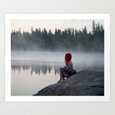 Morning Mist Art Print by Patty Maher - $23.95