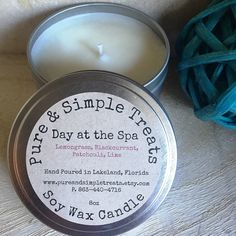 a calming and balanced fragrance oil that combines notes of lemongrass and black currant with hints of patchouli and sugar cane. It's a great year-round candle scent. Makes the perfect handmade gift. Pin now, view later