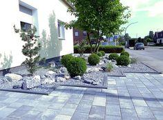 Vorgarten Steinen Gestalten Bilder QRcDWd16