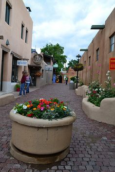 On the streets of Taos NM! Shop LOCAL! #taos, #shopping #southwest