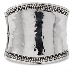 Chico's Roxi Cuff ($49) ❤ liked on Polyvore featuring women's fashion, jewelry, bracelets, silver, cuff bangle, dot jewelry, chico's, chicos jewelry and cuff jewelry