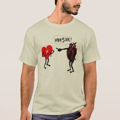 funny t-shirt medical imposter heart design - love gifts cyo personalize diy