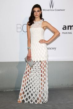 The Best Looks from the Red Carpet at the amfAR Gala - Best Dressed Celebrities at amfAR 2014 - Elle