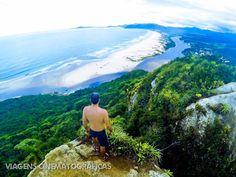 Melhores Praias do Brasil: Guarda do Embaú em Santa Catarina. Dá para não ficar apaixonado por esse visual?