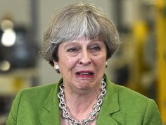 Theresa May currently at bargaining stage of grieving process - The Rochdale Herald Theresa May Funny, Eric Blair, Sophie's Choice, Rochdale, Jeremy Corbyn, Badass Women, Months In A Year, Britain