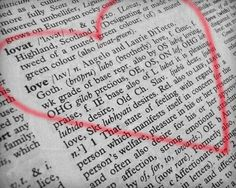 Love Defined Dictionary Personalized by nameyourwishimages on Etsy, $34.00